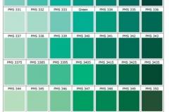 pantone verd